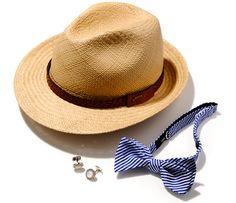 hats,cufflinks,bowtie / HACKETT LONDON