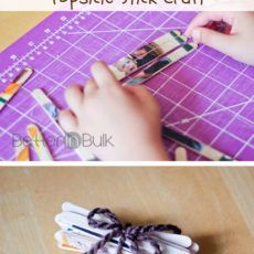 how to make a craft stick puzzle kids craft