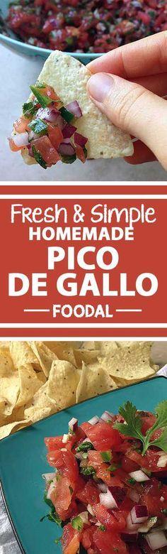 Rooster's Beak (pico De Gallo) Recipe — Dishmaps
