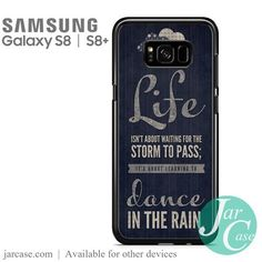 Dance In The Rain NT Phone Case for Samsung Galaxy S8 & S8 Plus
