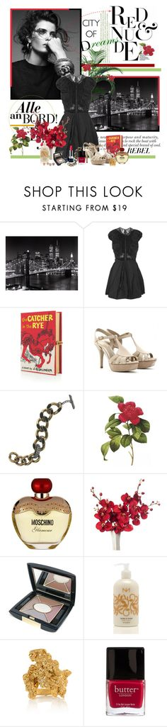 """The Catcher in the Rye"" by auby ❤ liked on Polyvore featuring MANGO, Sonam Life, Nina Ricci, Olympia Le-Tan, Yves Saint Laurent, Christian Dior, Lanvin, Moschino, Niven Morgan and Estelle Dévé"