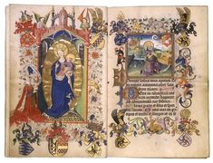 hours of margaret of cleves - Google Search