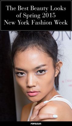 New York Fashion Week is almost here! Get an advance look at spring 2015 trends like genie braids, surfer hair, and more!