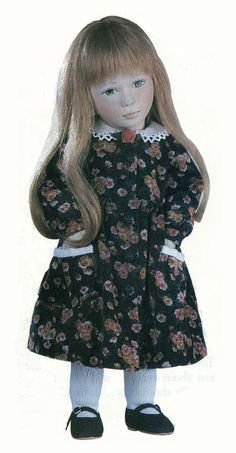 Rosalie, 17 inch all-felt doll by Maggie Iacono, LE80, originally 695 dollars
