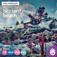 Uno de los parques acuáticos más lindos de Disney: Blizzard Beach! Con los grupos #rosaF16 #turquesaF16 #azulF16 #lilaF16 y #enjoy15!