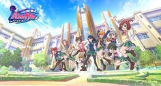 """Upcoming Anime """"Battle Girl High School"""" Based On Smartphone Action Role-Playing Game Reveals Visual And Premiere Date"""