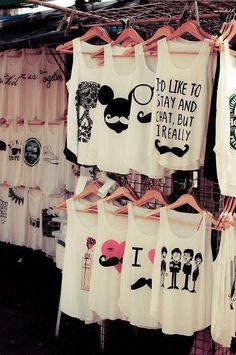 disney mickey mouse summer white clothes tank top moustache white tank top heart girly summer top t-shirt blouses tops fashionable girls teenagers perefct blouse leather black perfecto shirt. I want them all Cute Fashion, Look Fashion, Teen Fashion, Fashion Outfits, Fashion 2014, Nail Fashion, Fashion Clothes, Fashion Fashion, Shirts For Teens