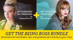 Being Boss // A Podcast for Creative Entrepreneurs - Join the mailing list for member exclusive materials.