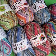 Opal sweet and spicy soooo schön #stricken #knitting #yarn #wollgeschäft #wolle #socks #socken #opal #sweet #spicy