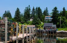 Port Clyde Lobster Season - It's lobster season in Port Clyde, Maine & the…