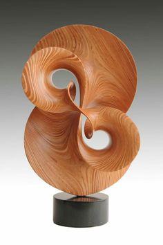 Robert Longhurst --Find an artist for your next project - CODAworx - Holzschnitzen , Abstract Sculpture, Wood Sculpture, Metal Sculptures, Bronze Sculpture, Art Furniture, Wood Carving Art, Art Moderne, Wooden Art, Art Plastique