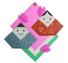 3月3日はひな祭り♪ 折り紙で楽しくひな人形やひな飾りを手作りされてみませんか^^ 簡単にできるひな人形・ぼんぼり・屏風・台座などの作り方をまとめました。  折り紙で作るひ...