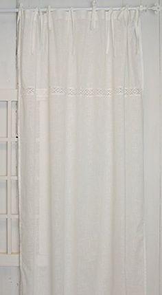 Julia offwhite Vorhangset mit Spitzenborte(2x120x240cm) Vorhänge Vorhang Gardinen Shabby Chic Vintage Landhaus Franske Leinenoptik www.mylovelyhomeshop.de http://www.amazon.de/dp/B00W7HW8LI/ref=cm_sw_r_pi_dp_qA9Mwb0PTA1ZE