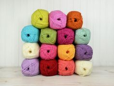 Buy the latest double knitting wool from top brands. Deramores stocks DK yarn in a huge variety of weights, colours and fibres to suit everyone's tastes. Get free delivery when you spend over with Deramores. Crochet Wool, Knitting Wool, Double Knitting, Crochet Granny, Crotchet, Free Crochet, Knitting Patterns Free, Free Knitting, Crochet Patterns