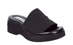 Whatever Happened to '90s Creeper Sandals With The Thick, Black, Stretchy Strap?