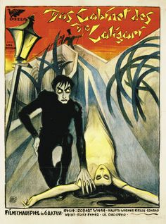 The Cabinet of Dr. Caligari is a German silent horror film, first released on 26 February It was directed by Robert Wiene and writte. Dr Caligari, Horror Movie Posters, Film Posters, Horror Movies, Horror Film, Silent Horror, Silent Film, Robert Wiene, Conrad Veidt