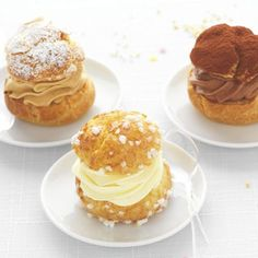 Choux Cream, Baking Recipes, Pancakes, Sweets, Japan, Breakfast, Projects, Food, Profiteroles Recipe