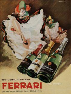 Italian Wine Guide For Beginners – Drinks Paradise Vintage Wine, Vintage Ads, Vintage Italian Posters, Wine Poster, Original Vintage, Pulp, Vintage Graphic Design, Ad Art, Italian Wine