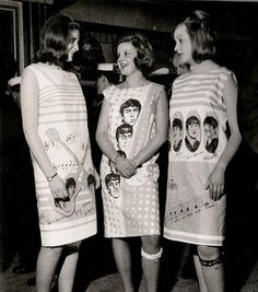 The Beatles Paper Dresses