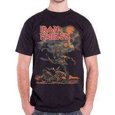 Tricou Iron Maiden: Sanctuary Iron Maiden, Metalhead, Band Tees, Mens Tops, T Shirt, Fashion, Supreme T Shirt, Moda, Tee Shirt