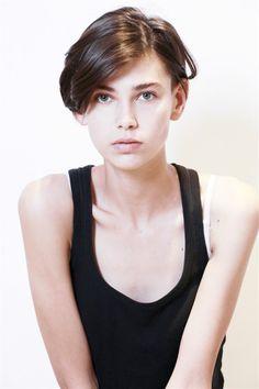 AMRA Cerkezovic Hair Art, My Hair, Pixie Hairstyles, Cool Hairstyles, Short Hair Cuts, Short Hair Styles, Androgynous Hair, Mens Hair Trends, Hair Blog