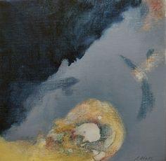 Studie 26, 2005 (P.Wienand)  Öl auf Leinwand/Holz, 25 x 25 cm