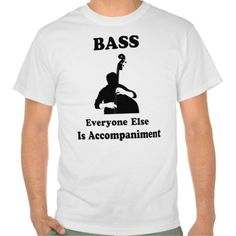 String Bass Gift Tees