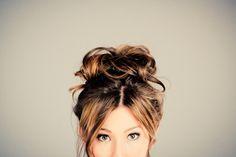 Adorable hair!