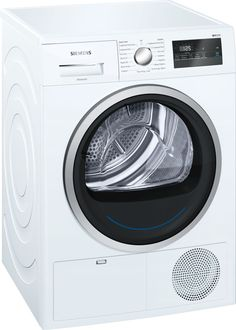 Buy Siemens Condenser Heat Pump Tumble Dryer, Load, A++ Energy Rating, White from our Tumble Dryers range at John Lewis & Partners. Tumble Dryers, American Style Fridge Freezer, White Appliances, Cost Of Goods, Range Cooker, Pumps, Heat Pump, Outdoor Outfit, Drum