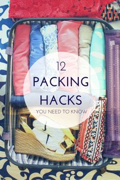 Packing hacks you ne