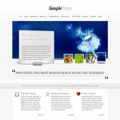 SimplePress WordPress Theme By Elegant Themes | WordPress Theme Download