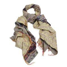 Silk Kantha Scarf (Paisley) Echarpe, Point Courant, Vêtements À Fabriquer  Soi Même 27bbd5ffe8d