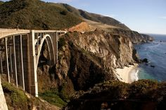 Big Sur Bixby Bridge 2 600x399 5 Highlights along Highway 1, California