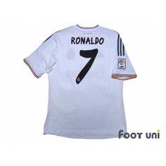 8dda11eaaa6 Real Madrid 2013-2014 Home Shirt  7 Ronaldo LFP Patch Badge
