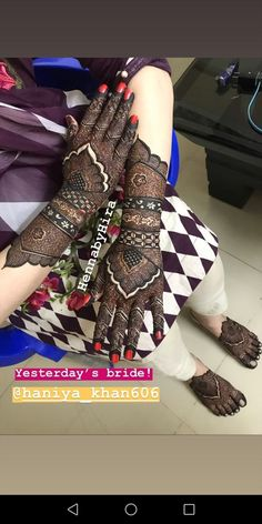 Henna Art Floral Henna Designs, Basic Mehndi Designs, Mehndi Designs Feet, Legs Mehndi Design, Latest Bridal Mehndi Designs, Stylish Mehndi Designs, Henna Art Designs, Mehndi Design Pictures, Mehndi Designs For Girls