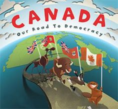 If you are looking for a fun way to start teaching more in-depth about Canada, its history, culture, and democracy – you might want to check out these new books from Humber Press. Canada – Our Road to Democracy tackles … Continue reading → Canadian Social Studies, Social Studies Book, Democracy For Kids, Government Of Canada, Alphabet Book, Book Suggestions, Book Nerd, New Books, Childrens Books
