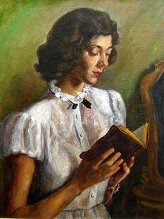 Leitura, s/d    Lucília Fraga ( Brasil, 1895 – 1979)