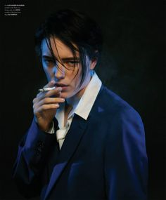 SheWired - Post-Valentine's Day Eye Candy: Erika Linder Made Our Jaws Drop >>No shit, that's what she was created for - derrr😜! Drag King, Beautiful Boys, Beautiful People, Erika Linder, Below Her Mouth, Don Corleone, Androgynous Models, Androgynous Fashion, Tomboy Fashion