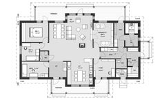 Sweet Home, Floor Plans, Deco, Building, Interior, House, Sims, House Beautiful, Home