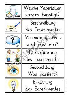 Klassenregeln grundschule bildkarten  Experimente für die Grundschule (Experimentieren) | Science ...