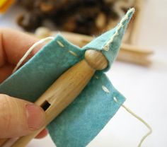 Hand made clothes pin fairy and elf ideas...oh!!  Resistance is Useless.... I must make some...