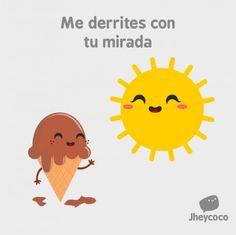 Me derrites con tu mirada. #humor #risa #graciosas #chistosas #divertidas