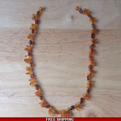 Amber Necklace. Genuine Baltic Amber Jewellery
