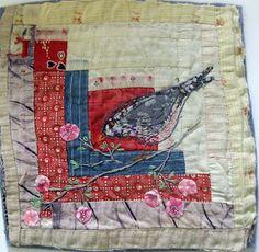 oiseau / patchwork
