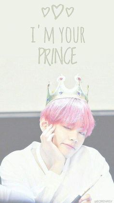 Yes,you are my prince