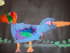 we heart art: Alphabet Birds