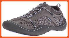 JSport by Jambu Women's Quest-f6 Flat, Charcoal/Tanzanite, 7.5 M US - Flats for women (*Amazon Partner-Link)