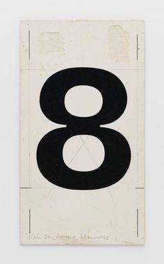"""garadinervi: """" Adrian Frutiger 8, Univers; Werksatzschrift; Fotosatz (Lumitype) ca. 1953 Deberny et Peignot, Paris, FR Museum für Gestaltung Zürich """""""