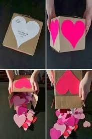 Valentine's: Send a Crafty Heart Attack – write something you love about your valentine on each heart!--- I'm not one for Valentine's Day but I love this idea My Funny Valentine, Valentine Heart, Be My Valentine, Valentine Day Gifts, Valentine Ideas, Kids Valentines, Valentines Day Care Package, Homemade Valentines, Valentine Decorations