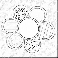 romero britto flor para colorir - Pesquisa Google